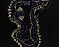 elajoyas. Collar Pure-Stone de pirita y lapizlázuli