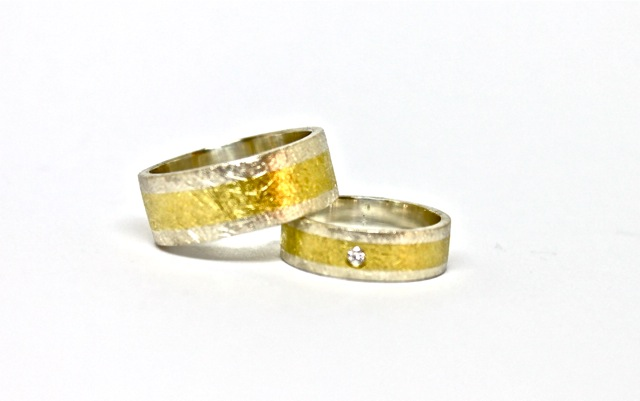 Wedding Rings Unique Wedding Bands For A Special Couple